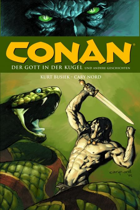 Conan - der Gott in der Kugel - Das Cover