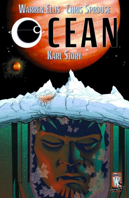 Ocean (Wildstorm Essential 1) - Das Cover