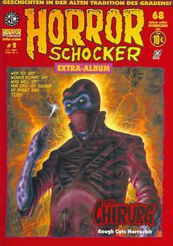 Horrorschocker Extra Album 2: Der Chirurg - Das Cover