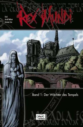 Rex Mundi 1: Der Wächter des Tempels - Das Cover