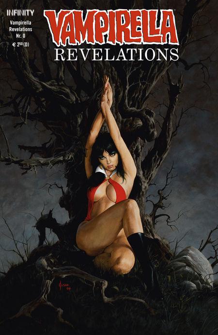 Vampirella Revelations 0 - Das Cover