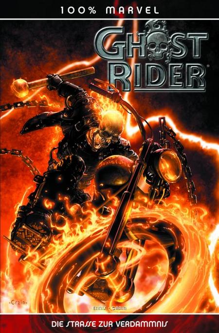 100% Marvel 26: Ghost Rider – Die Strasse der Verdammnis - Das Cover