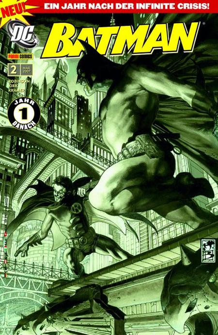 Batman 2 (neu ab 2007) - Das Cover