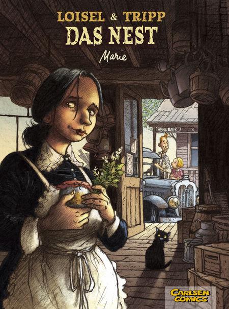 Das Nest 1: Marie - Das Cover