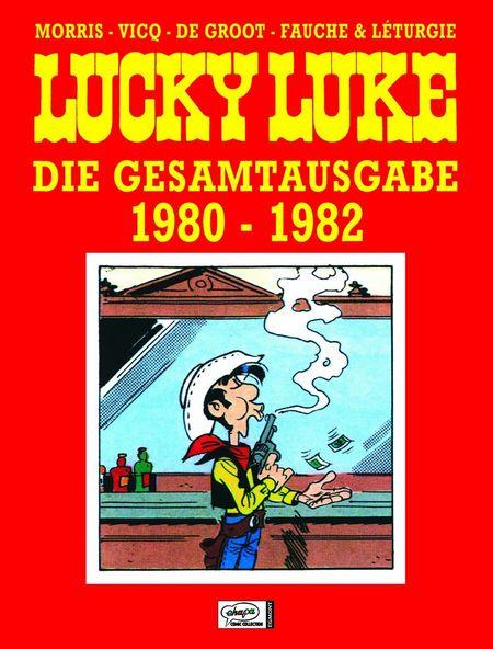 Lucky Luke: Die Gesamtausgabe 17: 1980-1982 - Das Cover