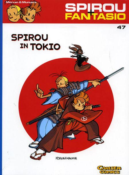 Spirou + Fantasio 47: Spirou in Tokio - Das Cover