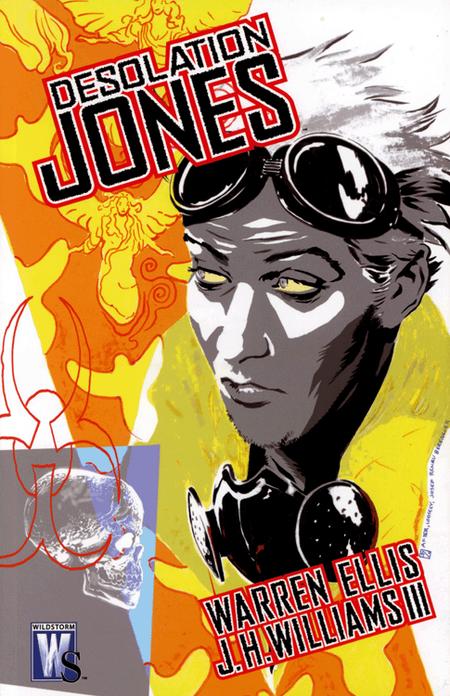 Desolation Jones - Das Cover
