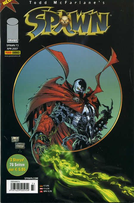 Spawn 73 - Das Cover
