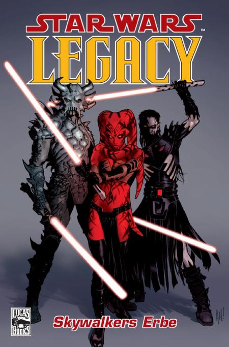 Star Wars Sonderband 36: Legacy 1 - Das Cover