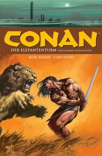 Conan - der Elefantenturm - Das Cover