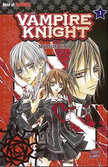 Vampire Knight 1 - Das Cover