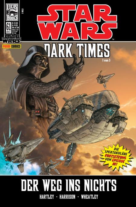 Star Wars 61: Dark Times 1 von 3 - Das Cover