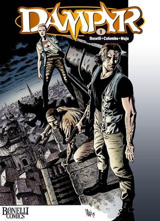 Dampyr 1: Der Sohn des Teufels - Das Cover