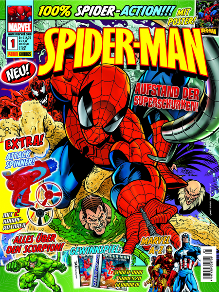 Spider-Man Magazin 1 - Das Cover