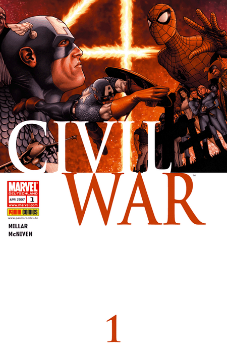 Civil War 1 - Das Cover