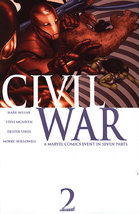 Civil War 2 - Das Cover