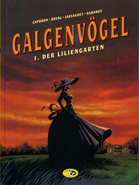 Galgenvögel 1: Der Liliengarten - Das Cover