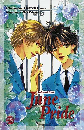 Takumi-kun 1 - Das Cover