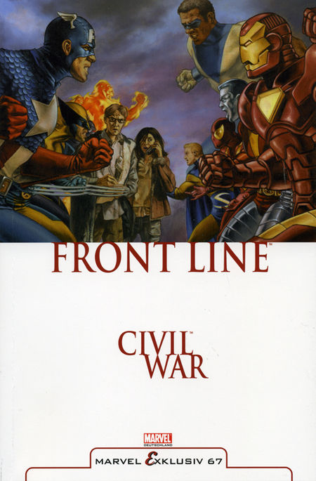 Marvel Exklusiv 67: Civil War – Frontline - Das Cover
