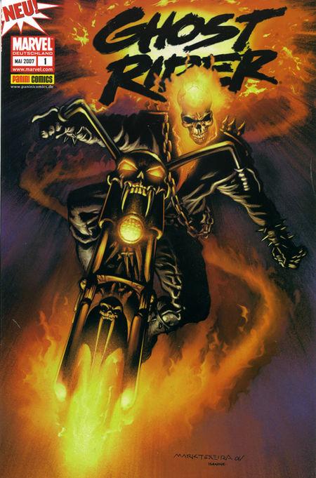 Ghost Rider Sonderband 1: Teufelskreis - Das Cover