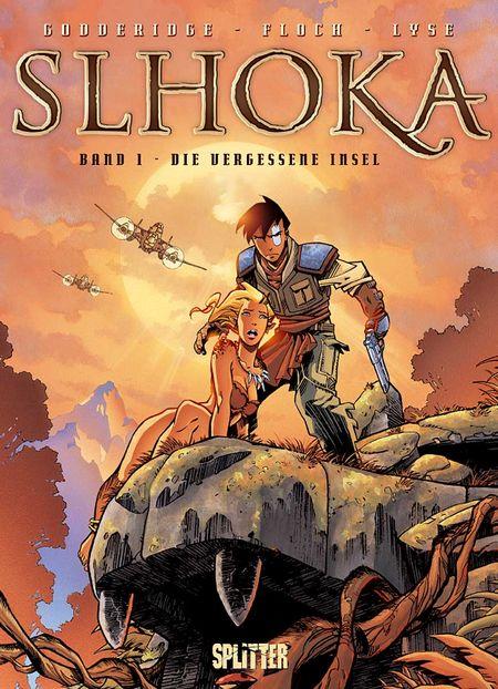 Slhoka 1: Die vergessene Welt - Das Cover