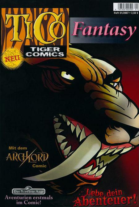 TiCo Fantasy 01/2007 - Das Cover