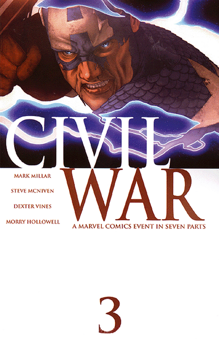 Civil War 3 - Das Cover