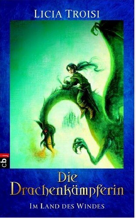 Die Drachen Kämpferin, Band 1 - Im Land des Windes - Das Cover