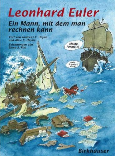 Leonhard Euler - Ein Mann, mit dem man rechnen kann - Das Cover