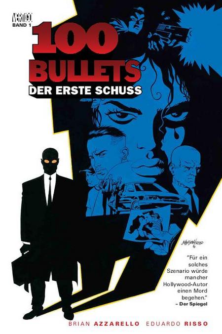100 Bullets 1: Der erste Schuss, die letzte Runde - Das Cover