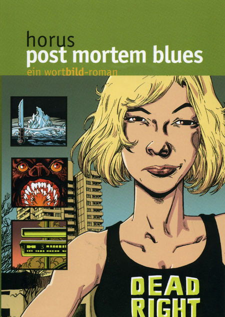 Post Mortem Blues - Das Cover