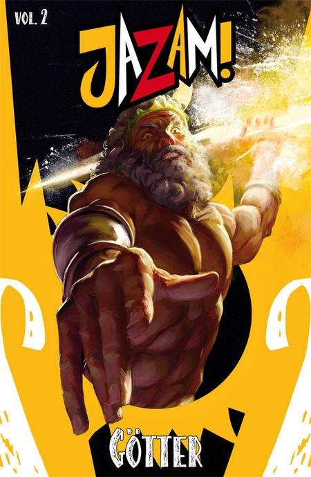 Jazam! 2: Götter - Das Cover