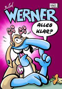 Werner Sammelbänder 2: Werner - Alles klar? - Das Cover