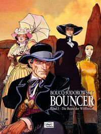 Bouncer 5: Die Beute der Wölfinnen - Das Cover