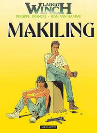 Largo Winch 7: Makiling - Das Cover