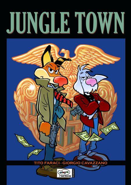 Jungle Town - Das Cover