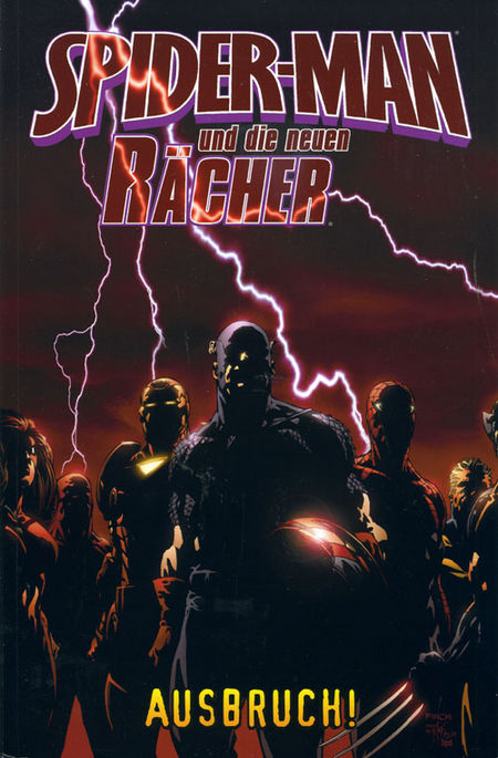 Spider-Man und die neuen Rächer 1: Ausbruch - Das Cover