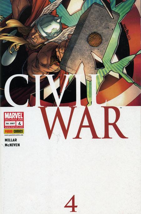 Civil War 4 - Das Cover
