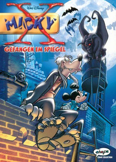 Micky X 1: Gefangen im Spiegel - Das Cover