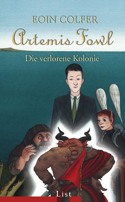 Artemis Fowl - Die verlorene Kolonie - Das Cover