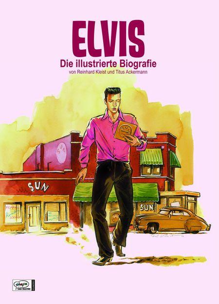 Elvis: Die illustrierte Biografie - Das Cover