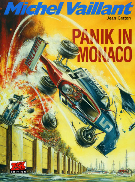 Michel Vaillant 47: Panik in Monaco - Das Cover