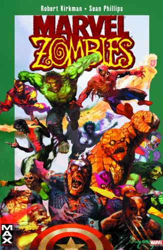 Marvel Zombies - Das Cover