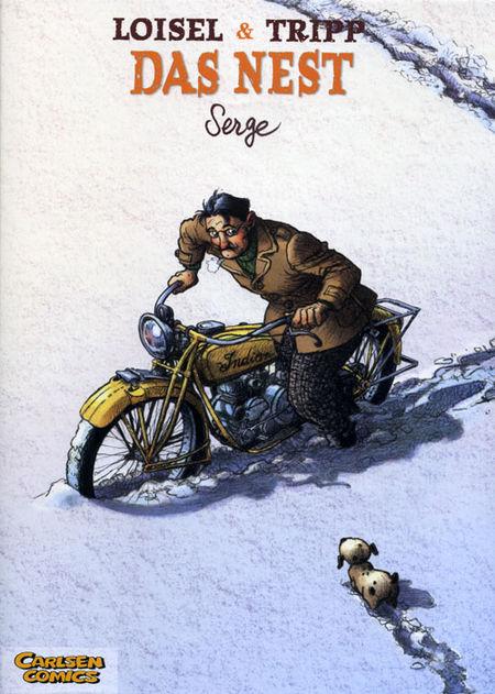 Das Nest 2: Serge - Das Cover