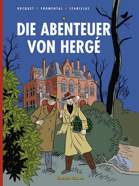 Die Abenteuer von Hergé - Das Cover