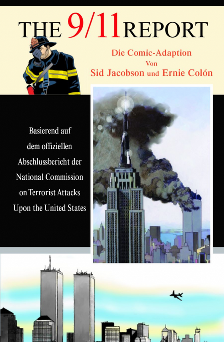 The 9/11 Report - Die Comic-Adaption - Das Cover