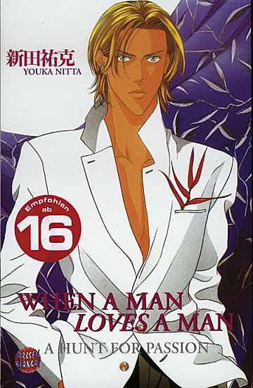 When a man loves a man 1 - Das Cover