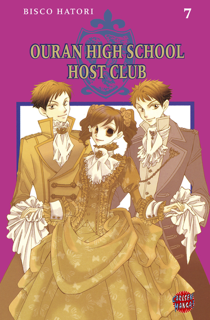 Ouran High School Host Club 7 - Das Cover