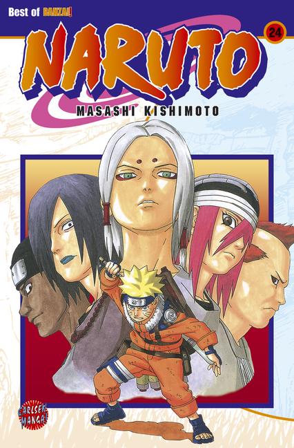 Naruto 24 - Das Cover