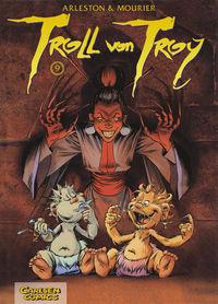 Troll von Troy 9: Gefangen in Darshaw - Das Cover